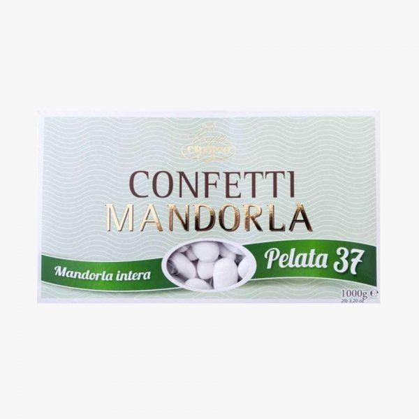 CONFETTI CRISPO MANDORLA PELATA 37 BIANCO