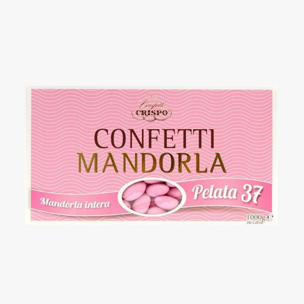 CONFETTI CRISPO MANDORLA PELATA 37 ROSA
