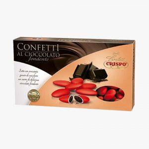 CONFETTI CRISPO | Confetti al Cioccolato | ROSSO | 1 Kg