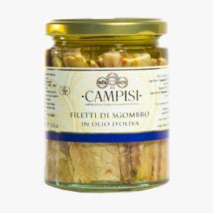 Campisi Filetti di sgombro in olio di oliva