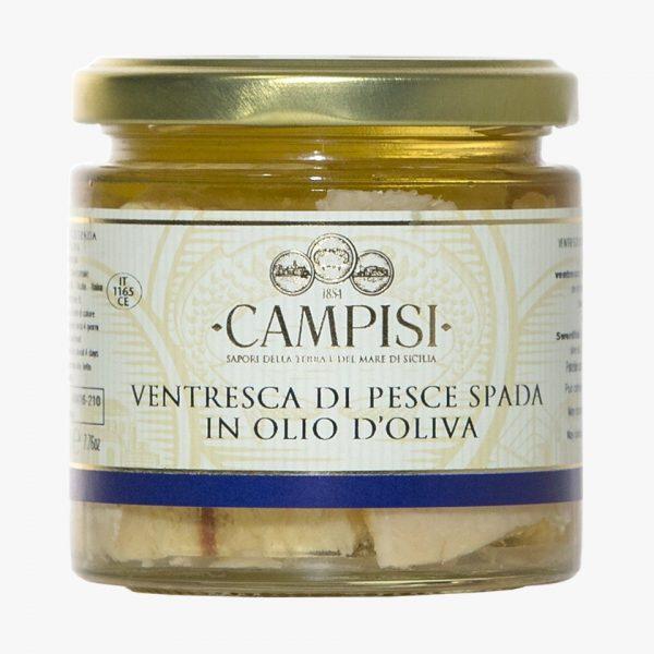 Campisi Ventresca di pesce spada in olio di oliva