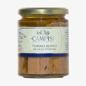 Campisi Conserve Tonno Rosso in olio di oliva