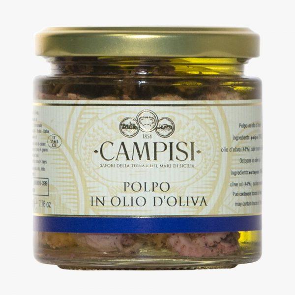 Campisi Polpo in olio di oliva