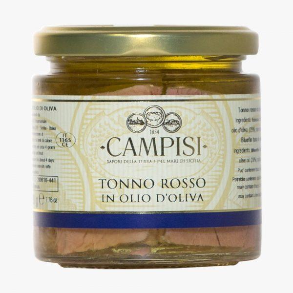 Campisi Tonno rosso in olio di oliva