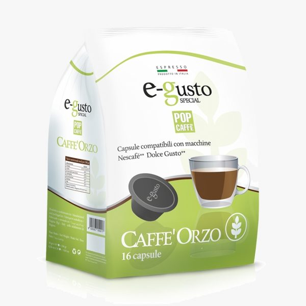 POP CAFFE DOLCE GUSTO ORZO
