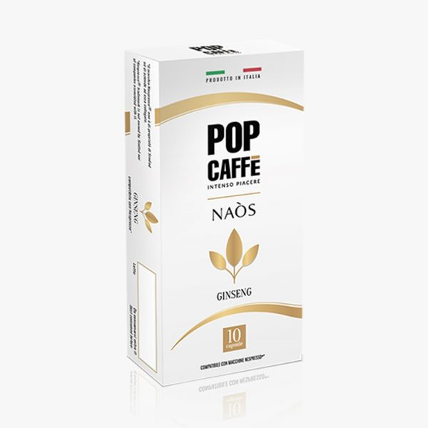 POP CAFFE NESPRESSO GINSENG
