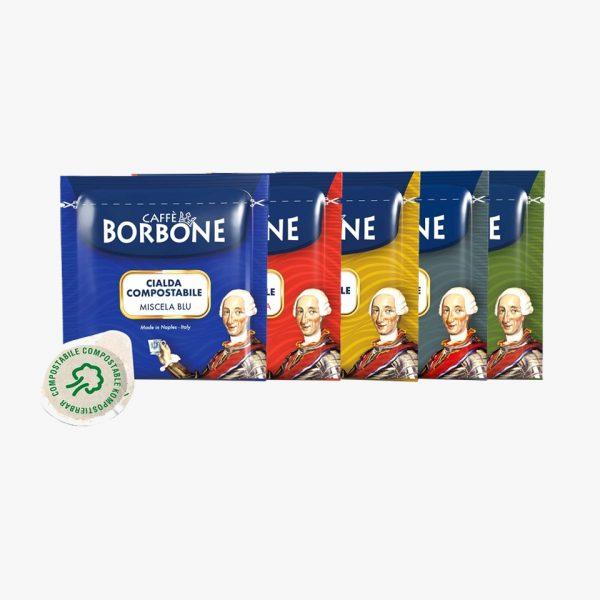 BORBONE CIALDA CARTA MIX 5 MISCELE